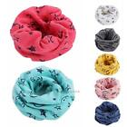 Внешний вид - Winter Warm Boys Girls Shawl Scarf Collar Baby Stars O Ring Neck Wraps Scarves