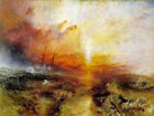 Classic English art print:  Slave Ship by WilliamTurner