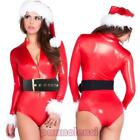 Costume carnevale intimo BABBA Babbo NATALE donna travestimento body DL-2022