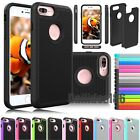 Hybrid Rugged Shockproof Rubber Hard Cover Case Skin For iPhone 4 5S 6 6S 7 Plus