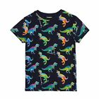 Bluezoo Kids Boys' Navy Dinosaur Print T-Shirt From Debenhams