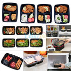 10x Microwavable Meal Prep Container With Lip Food Storage Bento For Kids Adults