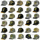 U.s. Army Hat Military Army Official Licensed Baseball Cap Strap Adjustable