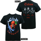 Authentic SODOM Band In The Sign of Evil Thrash Metal T-Shirt S M L XL 2XL NEW