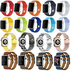 Silicone/Genuine Leather /Milanese Magnetic Strap Band for Apple Watch iWatch
