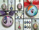 MY LITTLE PONY KEYRING OR CHARM OR NECKLACE OR LOCKET RAINBOW DASH PINKIE PIE