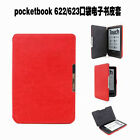 QW Hard Leather Protector Pouch Skin Case Cover For PocketBook 622/623 Touch