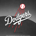 "Los Angeles Dodgers Logo Vinyl Decal Sticker MLB - 4"" and Larger Sizes - Glossy on Ebay"