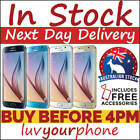 Samsung Galaxy S6 G920i 32GB 64GB 128GB Unlocked Smartphone Warranty *AU Model*