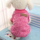 Cotton Pet Cat Dog Jacket Winter Clothes Small Puppy Doggie Sweater Coat Apparel