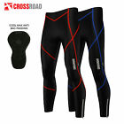 Mens Winter Cycling Tights Trouser Running Cycle Tights Cool Max Padded