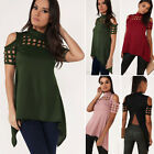 Women Fashion Blouse Summer Casual Loose Short Sleeve Blouse Tops Casual T-shirt