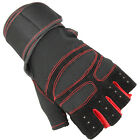 Workout Weight Lifting Half Finger Grip Glove For Wrist Support Gym