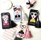 European Individual Mobile Phone Shell Tassel Chain Soft Protective Shell Cover