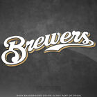 "Milwaukee Brewers Jersey Logo Vinyl Decal Sticker MLB - 4"" and Larger - Glossy on Ebay"