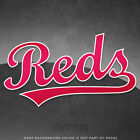 "Cincinnati Reds Jersey Logo Vinyl Decal Sticker MLB - 4"" and Larger - Glossy on Ebay"