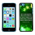 Hard Phone Case Cover Skin For Apple iPhone Bible: But God Shows his Love For Us
