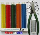 Zip Wing Bands 300pk Chicken Poultry Bird Numbered Wing Identification ID Tags
