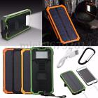 2USB 50000/100000mAh Solare Power Bank Caricabatterie Esterno for Smartphone