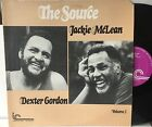 DEXTER GORDON/JACKIE MCLEAN The Source Vol 2. LP INNER CITY IC-2020 (1976) NM