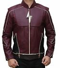 Henry Allen Flash Season 2 The Real Jay Garrick Faux Leather Jacket