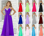 New Long Formal Evening Ball Gown Party Prom Bridesmaid Dresses Stock Size 6-22