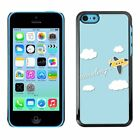Hard Phone Case Cover Skin For Apple iPhone Traveling Cartoon Plane
