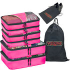 10 colors - Valyne 6-pcs Packing Cubes Set Travel Accessories Luggage Organizer