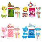 New Type Cartoon Animal Children's BIRTHDAY PARTY TABLEWARE PACK KIT FOR 6