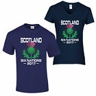 Six Nations 2017 T Shirt Rugby England Wales Scotland Ireland Italy France 2