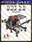 Colmic Seatbox ONE 2.0 EVOLUTION - made in Italy - Black White - White Black