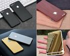 Textured Carbon Wood Chrome Gloss Skin Wrap Sticker Decal Case Cover All iPhone <br/> Available In Carbon-Wood-Brushed Metal-Chrome-Gloss
