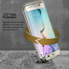 Shockproof 360° Protective Clear Gel Case Cover For Samsung Galaxy Phones