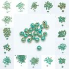 Wholesale RetroTibet Green Beads Spacer Beads Cap For Jewelry  DIY 4/5/6/7/8MM