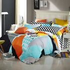 Toy Bricks Quilt/Doona Cover Set 100% Cotton Double/Queen Size Duvet Covers New