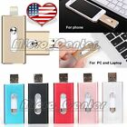 USB Flash Drive Storage Memory Stick 3in1 OTG for iPhone 5s 6 7 plus 32/64/128GB