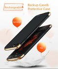 Ultra-Thin Power Bank Battery Backup Case Charger Phone Shell for iPhone 7/7Plus