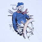 Ol' Featherlocks: Boat Captain Sailor T-Shirt