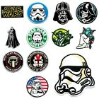 Star Wars Darth Vader Sith Lord Stormtrooper Patch Sew Iron On Embroidered Badge $3.31 CAD