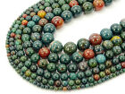 Natural Blood Stone Gemstone Round Spacer Beads 15.5'' 4mm 6mm 8mm 10mm 12mm