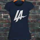 LOS ANGELES CHARGERS LA CHARGE FOOTBALL SAN DIEGO Womens Navy T-Shirt $14.99 USD on eBay
