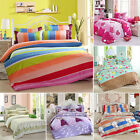 4pcs Bedding Set Modern Print Quilt Duvet Cover Bed Sheet with Pillowcase