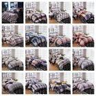 Checked Stripe 100% New Cotton Quilt/Doona/Duvet Cover Set Double/Queen Size Bed