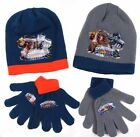 Skylanders Giants Beanie Hat And Gloves Sets Grey or Teal Size 52CM 54CM