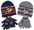 Boys Taz Manian Devil Looney Tunes Beanie Hat and Gloves Set 52CM and 54CM