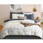 Leaves Reversible Duvet/Quilt/Doona Cover Set King Queen Double Size Bed Linen