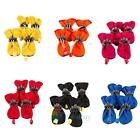 4Pcs Dog Cat Rain Protective Boots Waterproof Puppy Pet Shoes Boots Anti Slip A