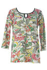 Miraclebody by Miraclesuit Women's Mos Nephi Keyhole Floral Top $60 NWT