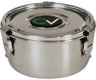 CVault Storage Container - stainless steel humidity control herbal stash curing
