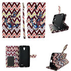 Wallet Case for ZTE Avid Plus/ ZTE Prestige Phones -Leather(PU)-Card Slots-Stand